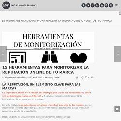 15 herramientas para monitorizar la reputación online de tu marca - miguelangeltrabado.es