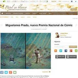 Miguelanxo Prado, nuevo Premio Nacional de Cómic