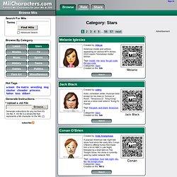 MiiCharacters.com - Category: Stars