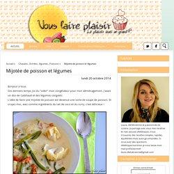 Mijotée de poisson et légumes
