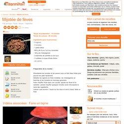 Mijotée de fèves : Recette de Mijotée de fèves