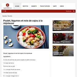 Poulet, légumes et noix de cajou à la mijoteuse