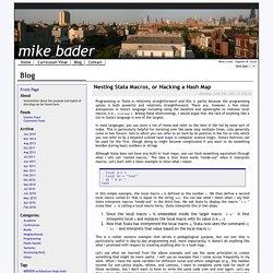 Mike Bader's Blog