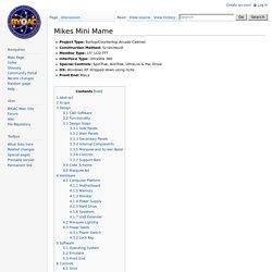 Mikes Mini Mame - BYOAC Wiki