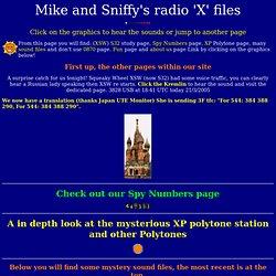 Mikes radio files