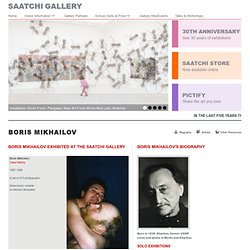 Boris Mikhailov - Artwork - The Saatchi Gallery