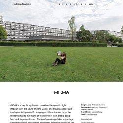 MIKMA –Nadezda Suvorova