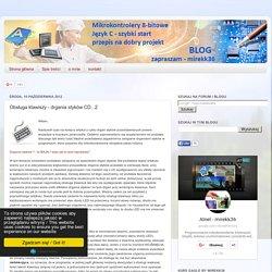 mikrokontrolery avr język c, poradniki, kursy video - eagle: Obsługa klawiszy - drgania styków CD...2