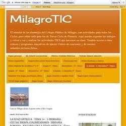 MilagroTIC: LA EDAD ANTIGUA - TEMA 14 - 5º PRIMARIA - CELTAS, IBEROS, COLONIZADORES - HISPANIA ROMANA - NAVARRA EN LA EDAD ANTIGUA - (Tema completo)