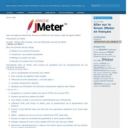 MilamberSpace » Tutoriels JMeter