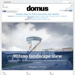 Milano landscape view