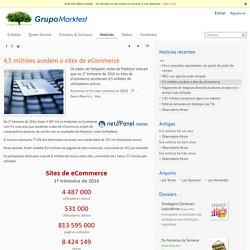 4,5 milhões acedem a sites de eCommerce