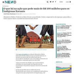 O que há na ação que pede mais de R$ 100 milhões para os indígenas Xavante - Nexo Jornal