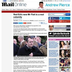 Ed Miliband's new Mr Fixit Michael Dugher is a real calamity
