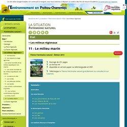 11 - Le milieu marin - l'Environnement en Poitou-Charentes