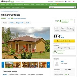 Milimani Cottages - Locations Arusha