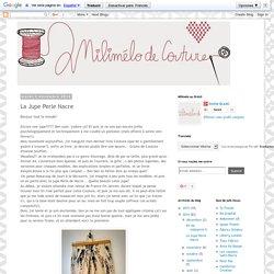 Milimélo de couture: La Jupe Perle Nacre