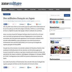 Des militaires français au Japon