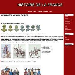 LES UNIFORMES MILITAIRES - histoiredelafrance