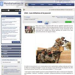 USA : Les militaires et le pouvoir