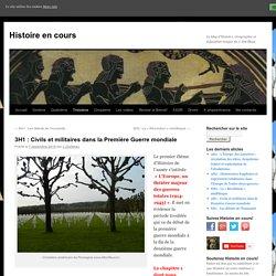 3H1 : Civils et militaires dans la Première Guerre mondiale