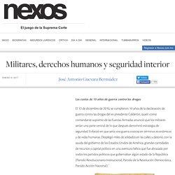 Militares, derechos humanos y seguridad interior