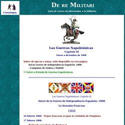Invasion de España - Inicio de la Guerra de Independencia Española: 1808