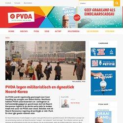 PVDA tegen militaristisch en dynastiek Noord-Korea
