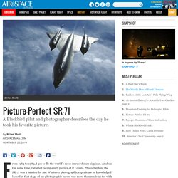 Picture-Perfect SR-71