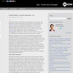 Social Military und Bundeswehr 2.0 » Blog der Agentur DFKOM