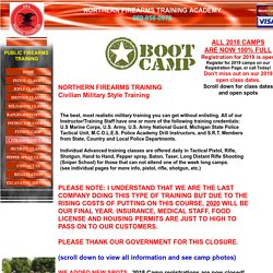 Military Style Civilian Boot Camp Training
