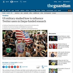 US military studied how to influence Twitter users in Darpa-funded research