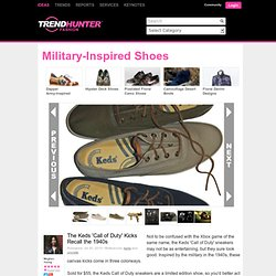 Keds Call of Duty Photos 2 - Military-Inspired Shoes pictures, photos, images