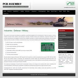 Military PCB Assembly - 4PCBAssembly