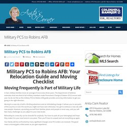Military Relocation to Robins AFB