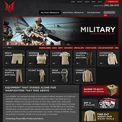 Military Fire Resistant Clothes, Military Flame Retardant Clothing