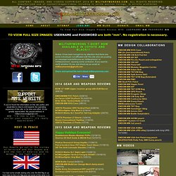militarymorons.com objective accurate information about gear weapons equipment