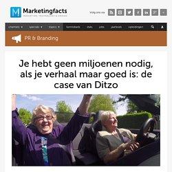 Je hebt geen miljoenen nodig, als je verhaal maar goed is: de case van Ditzo