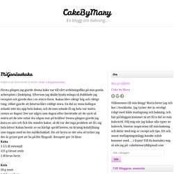 Miljonärskaka - CakeByMary