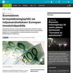 Suomalainen terveysteknologiayhtiö sai miljoonarahoituksen Euroopan investointipankilta