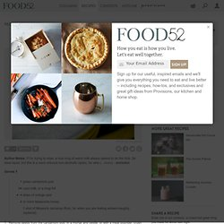 Milk and Honey recipe from food52