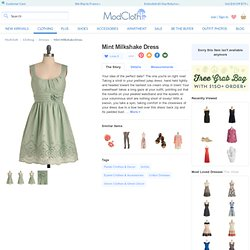 Mint Milkshake Dress