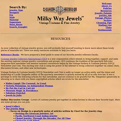 Milky Way Jewels Resources