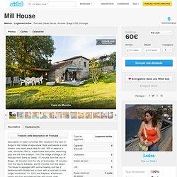 Mill House à Amares