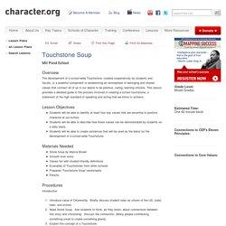 Touchstone Soup (Mixed Grades)