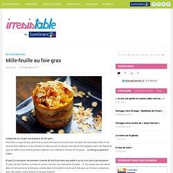 Mille-feuille au foie gras
