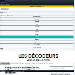 Comprendre le millefeuille des 338associations politiques françaises