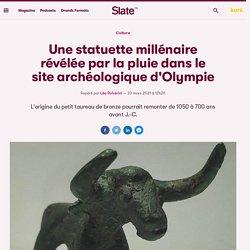 Une statuette millénaire révélée par la pluie dans le site archéologique d'Olympie