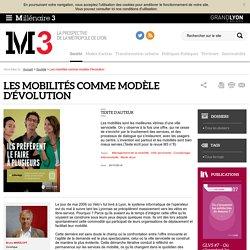 Millénaire 3 - Les mobilités comme modèle d'évolution