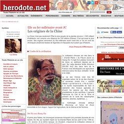 IIIe au Ier millénaire avant JC - Les origines de la Chine - Herodote.net